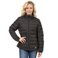 Navy - Front - Trespass Womens-Ladies Letty Full Zip Up Down Jacket