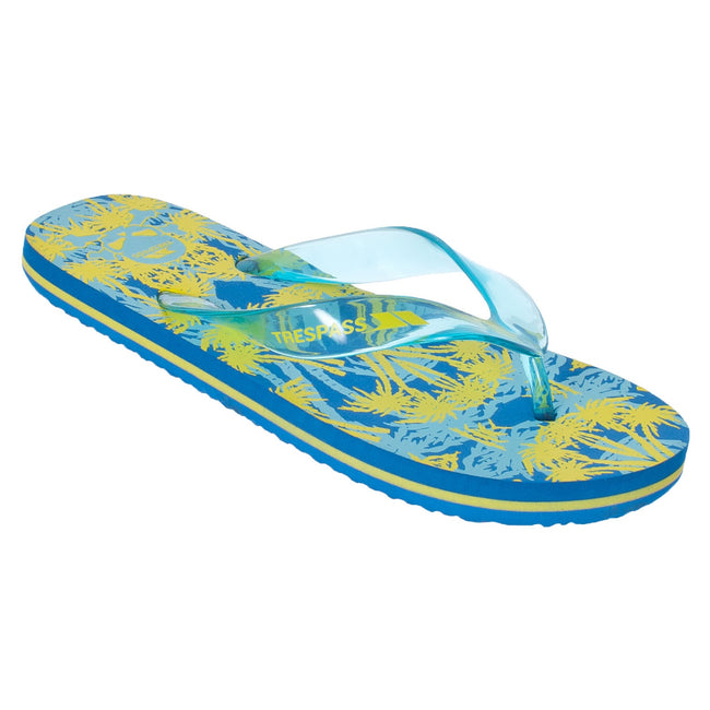 Peacock - Front - Trespass Childrens Boys Raider Flip Flops