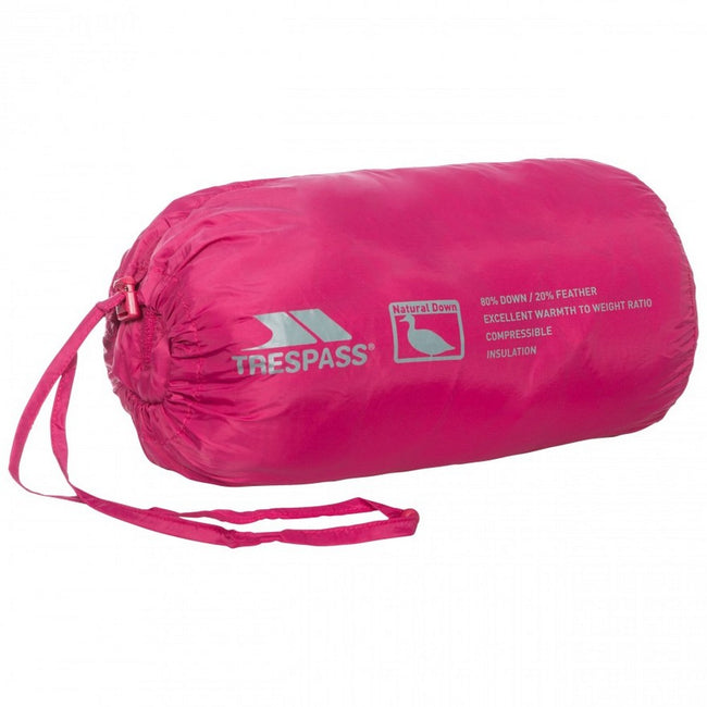 Cassis - Front - Trespass Womens-Ladies Arabel Down Jacket