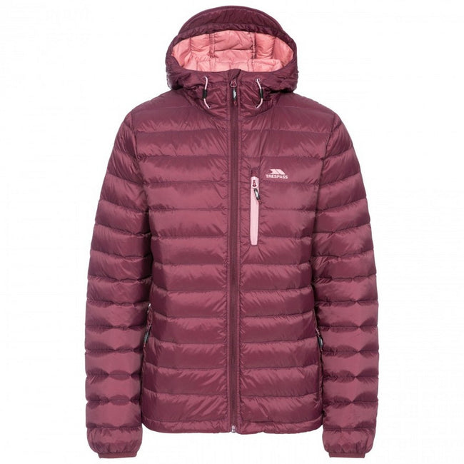 Cassis - Back - Trespass Womens-Ladies Arabel Down Jacket