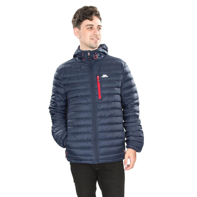 Red - Front - Trespass Mens Digby Down Jacket