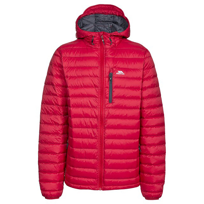 Blue - Front - Trespass Mens Digby Down Jacket