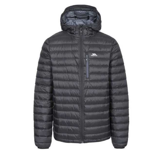 Black - Front - Trespass Mens Digby Down Jacket