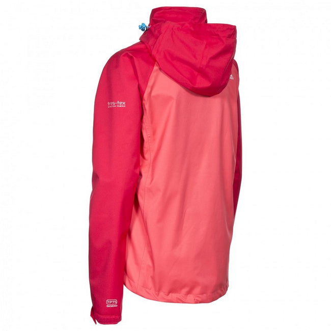 Rosie - Back - Trespass Womens-Ladies Farrah Waterproof Jacket