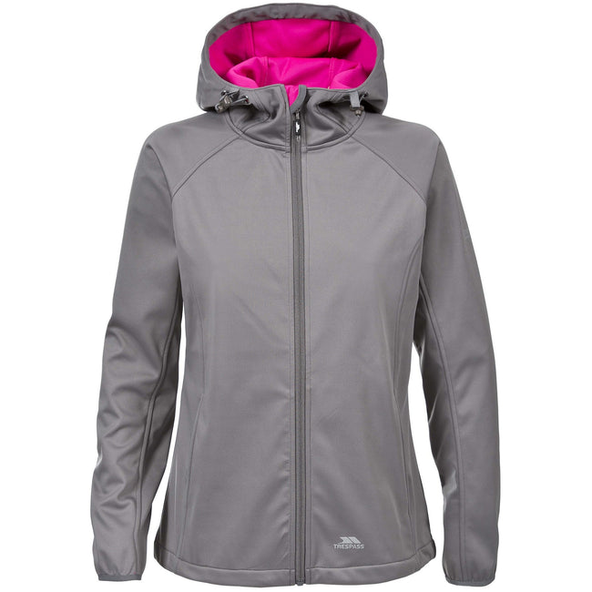 Bermuda - Front - Trespass Womens-Ladies Sisely Waterpoof Softshell Jacket