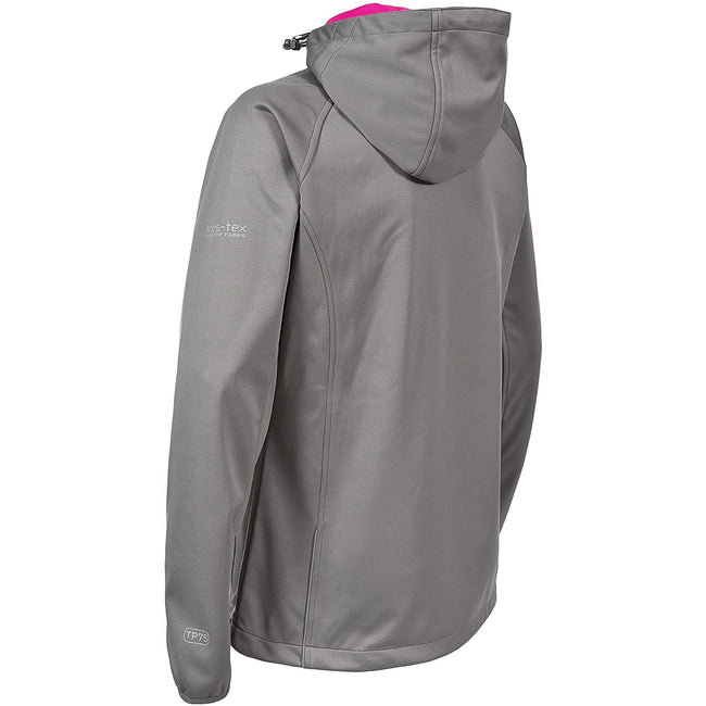Grape Wine - Front - Trespass Womens-Ladies Sisely Waterpoof Softshell Jacket