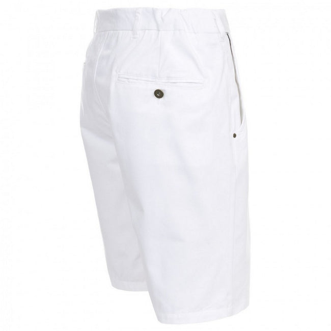 White - Side - Trespass Mens Firewall Casual Shorts