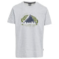 Grey Marl - Front - Trespass Mens Camp Casual Short Sleeve T-Shirt