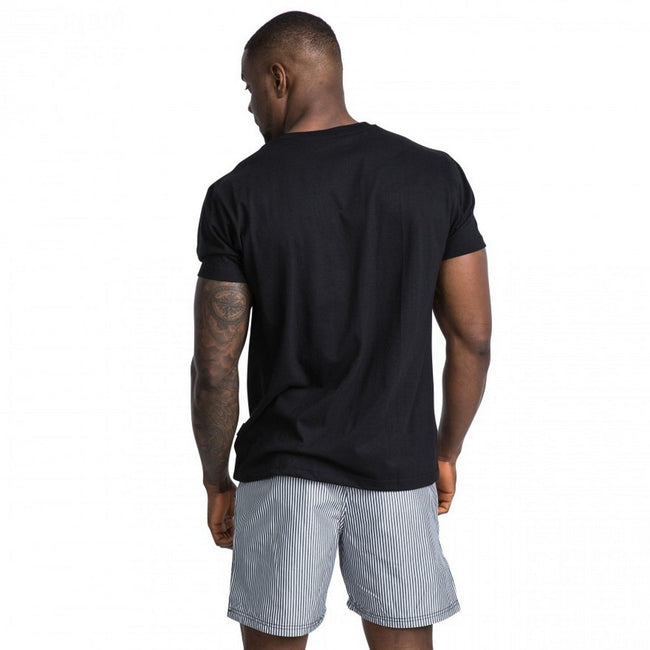 Black - Side - Trespass Mens Hiker Casual Short Sleeve T-Shirt