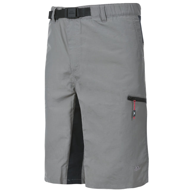 Storm Grey - Front - Trespass Mens Lipeck Travel Shorts