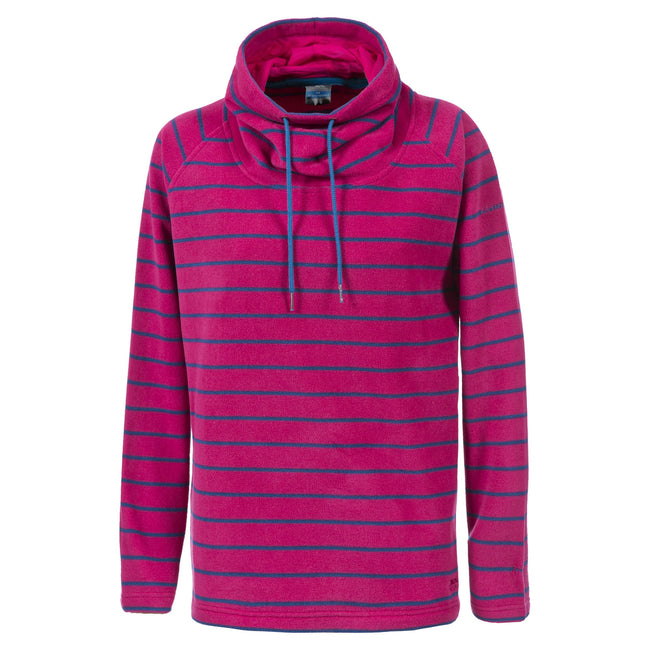 Cerise - Front - Trespass Womens-Ladies Yolo Pullover Fleece Hoodie
