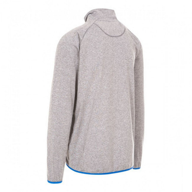 Blue Marl - Front - Trespass Mens Colson Full Zip Active Top
