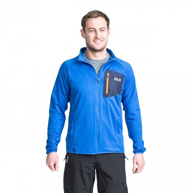 Grey Marl - Side - Trespass Mens Colson Full Zip Active Top