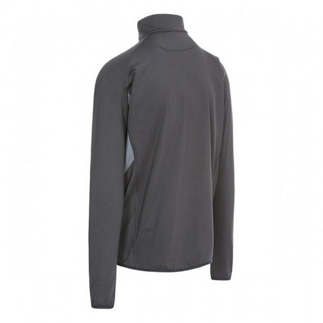 Black - Back - Trespass Mens Brennen Long Sleeve Active Top