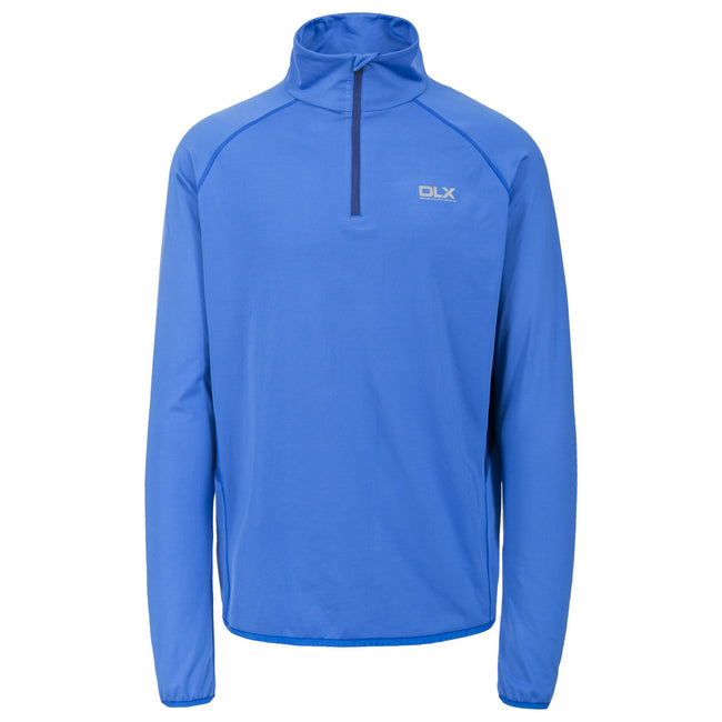 Blue - Front - Trespass Mens Brennen Long Sleeve Active Top