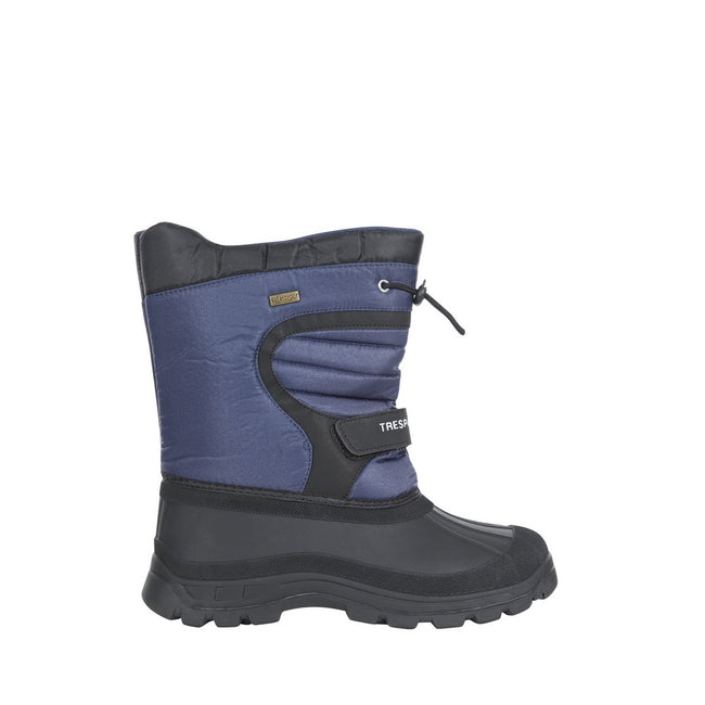 Navy Blue - Back - Trespass Childrens-Kids Huskie Waterproof Snow Boot