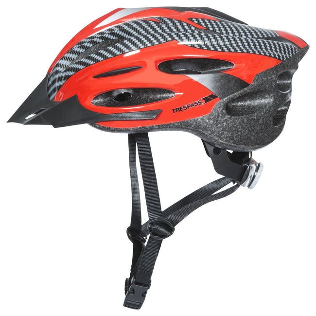 White - Back - Trespass Adults Unisex Crankster Cycling Helmet