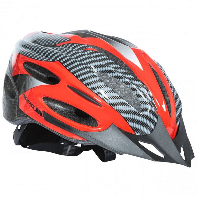 White - Side - Trespass Adults Unisex Crankster Cycling Helmet