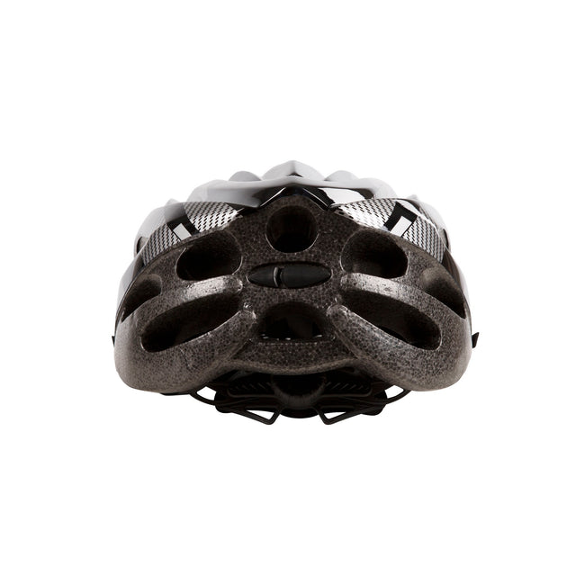 Red - Front - Trespass Adults Unisex Crankster Cycling Helmet