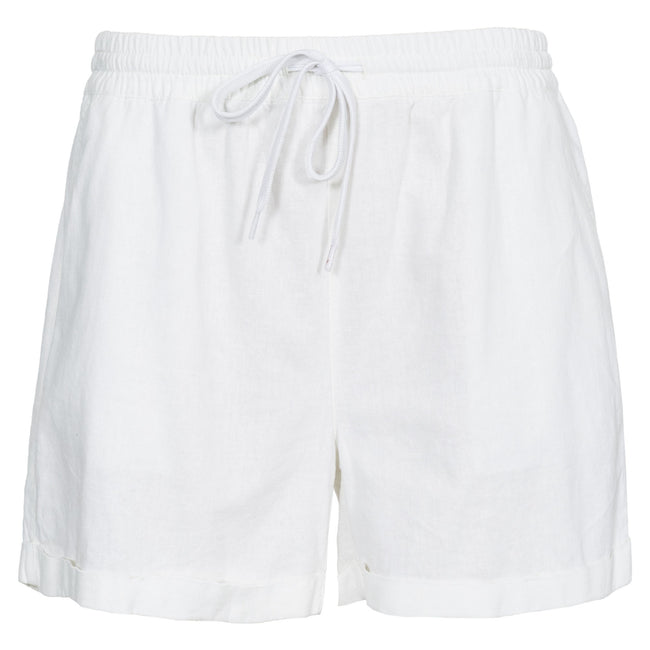 White - Front - Trespass Womens-Ladies Belotti Shorts