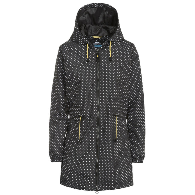 Black Print - Front - Trespass Womens-Ladies Isabella Waterproof Shell Jacket