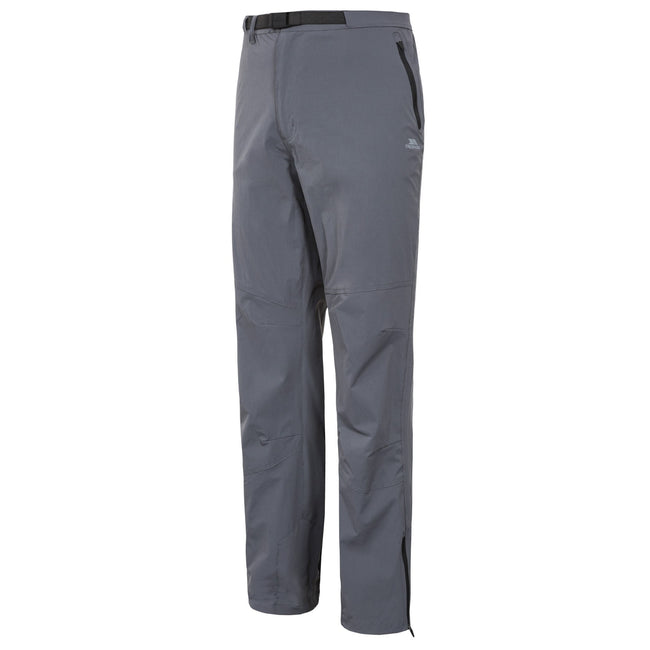 Carbon - Front - Trespass Mens Stormed Adventure Trousers