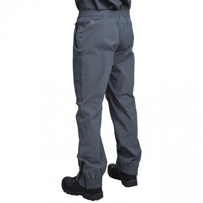 Carbon - Back - Trespass Mens Stormed Adventure Trousers