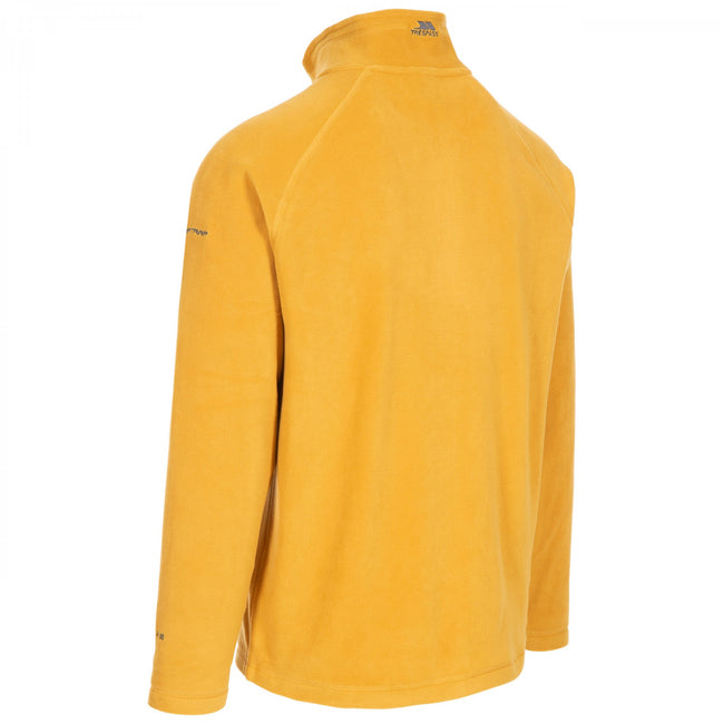 Red - Front - Trespass Mens Blackford Microfleece