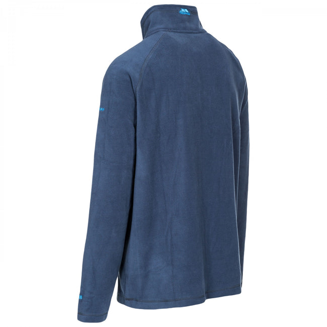 Black - Front - Trespass Mens Blackford Microfleece
