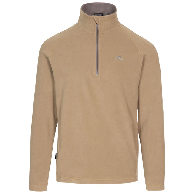 Navy - Front - Trespass Mens Blackford Microfleece