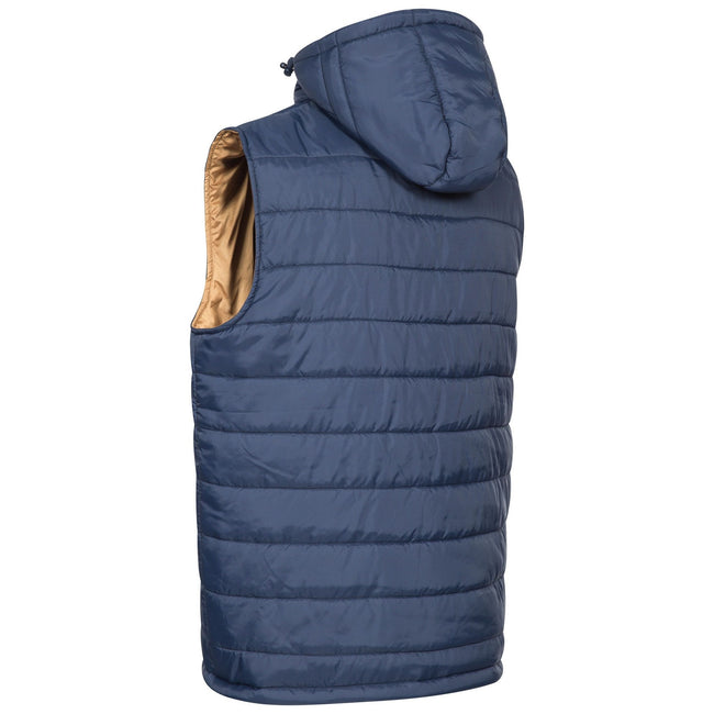Forest Green - Front - Trespass Mens Franklyn Padded Gilet