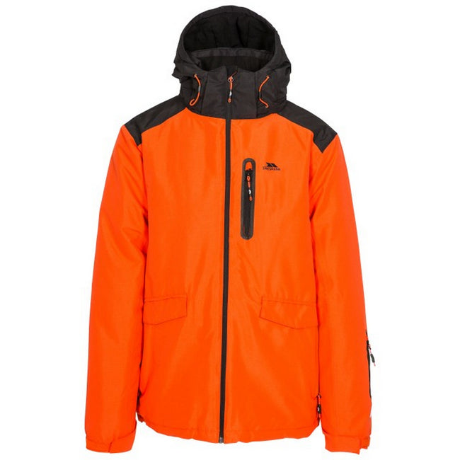 Golden Brown - Front - Trespass Mens Slyne Hooded Ski Jacket