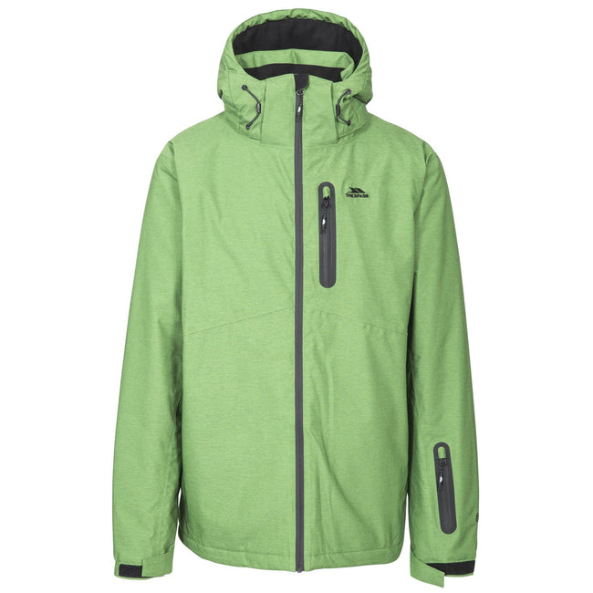 Fern - Front - Trespass Mens Lurgan Ski Jacket