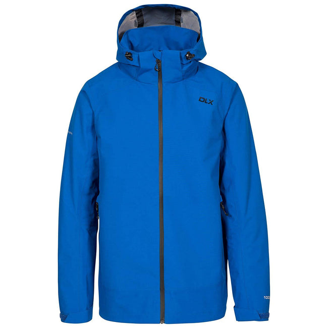 Blue - Front - Trespass Mens Lozano Waterproof DLX Jacket