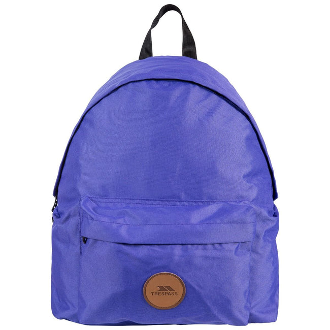 Purple - Front - Trespass Aabner Casual Backpack