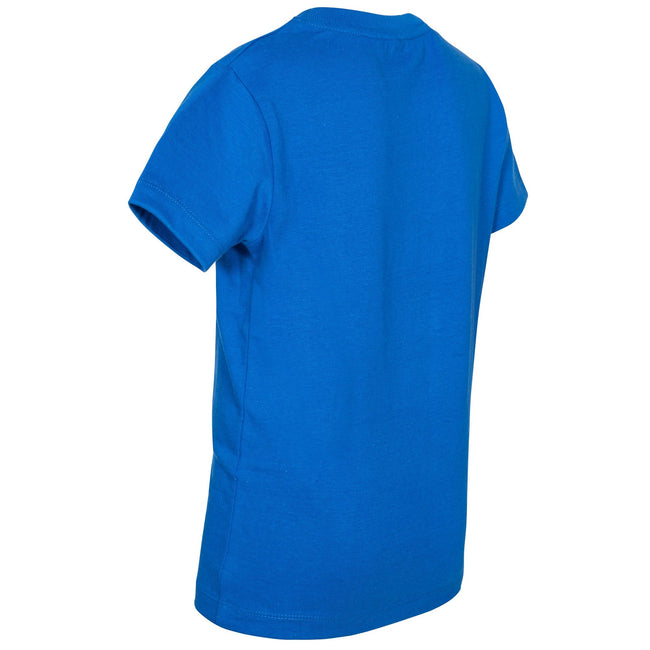 Blue - Back - Trespass Childrens Boys Jakob T-Shirt
