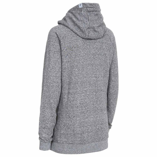 Dark Grey Marl - Back - Trespass Womens-Ladies Nancy Hoody