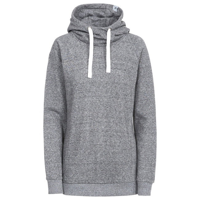 Dark Grey Marl - Front - Trespass Womens-Ladies Nancy Hoody