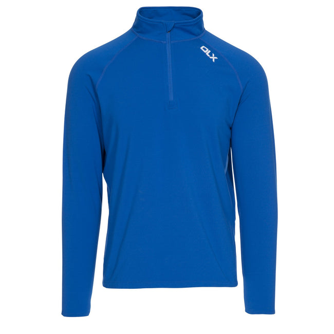 Blue - Front - Trespass Mens Tierney Active Top