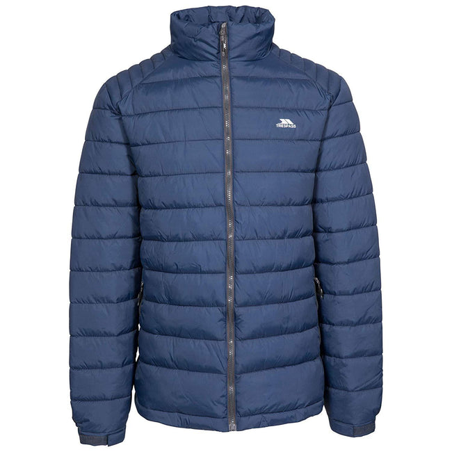 Navy - Front - Trespass Mens Darrell Padded Jacket