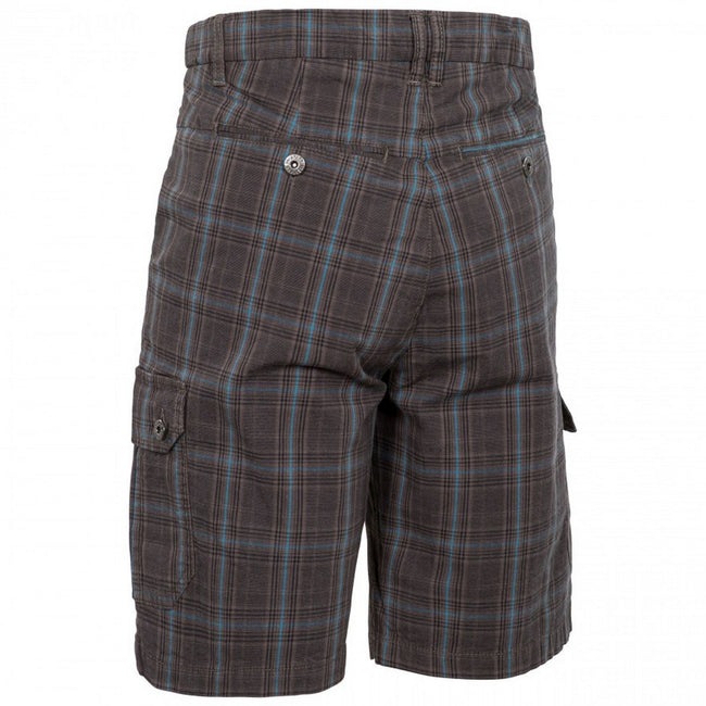 Peat Check - Back - Trespass Mens Earwig Cargo Shorts