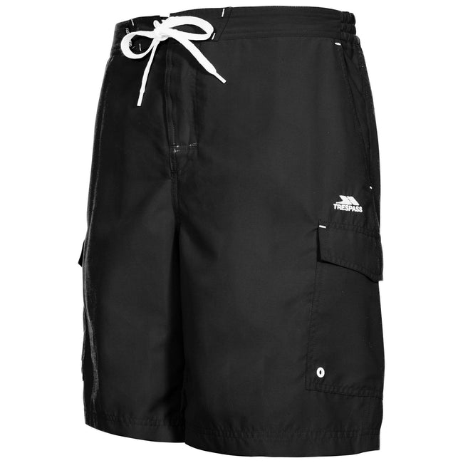 Red - Front - Trespass Mens Crucifer Surf Shorts