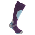 Purple - Front - Womens-Ladies High Performance Ski Socks (1 Pair)