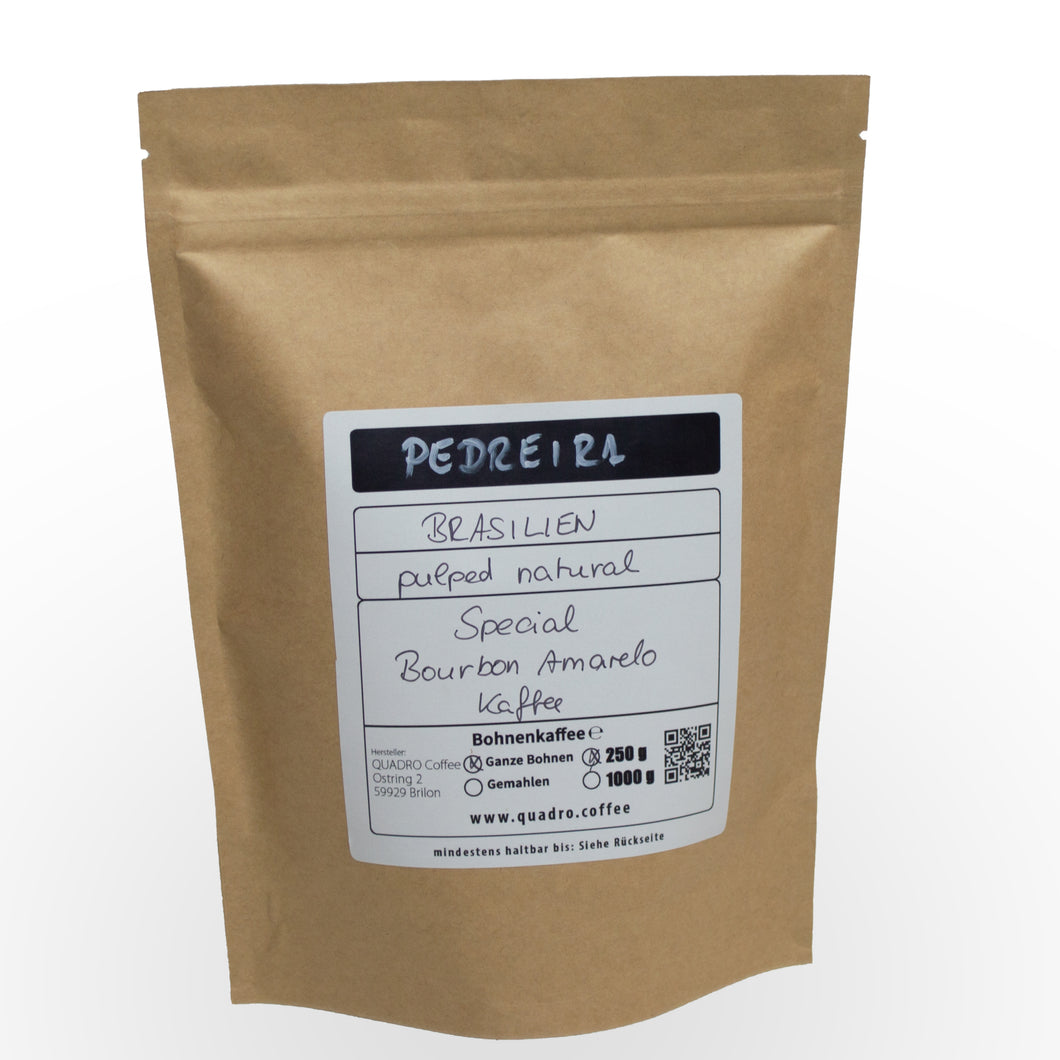 Pedreira, Bourbon Amarelo, Pulped Natural