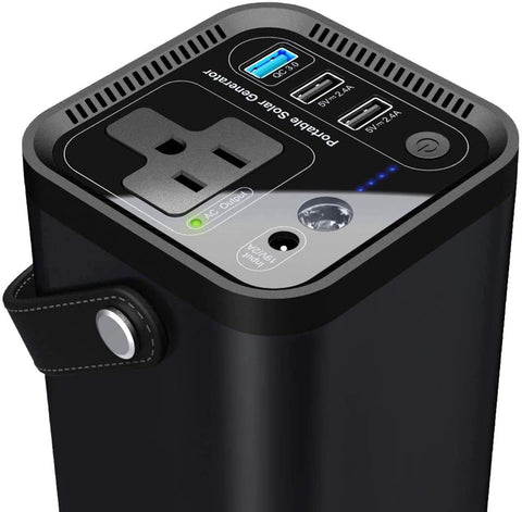 Portable Generator and Solar Panel - paisiico.com