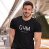 stylish_millennial-man-wearing-black-gym-obsession-t-shirt-from-sophisticatedtees.com