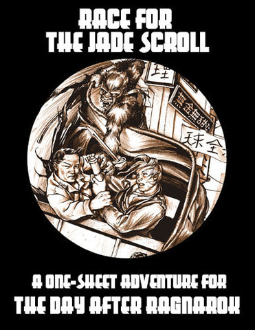 One Sheet: Race for the Jade Scroll