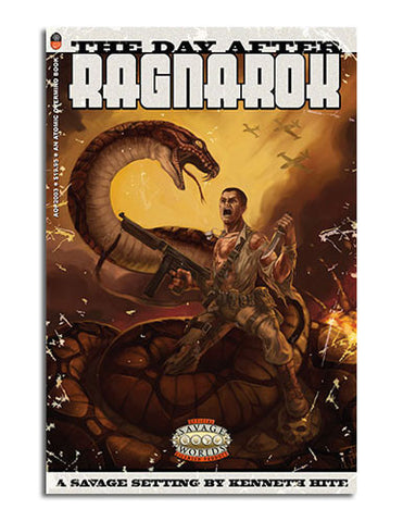 The Day After Ragnarok: Savage Worlds Edition