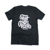 Toss the Torch t-shirt black short sleeve graphic tee