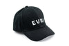 EVRI snapback, black alt side view